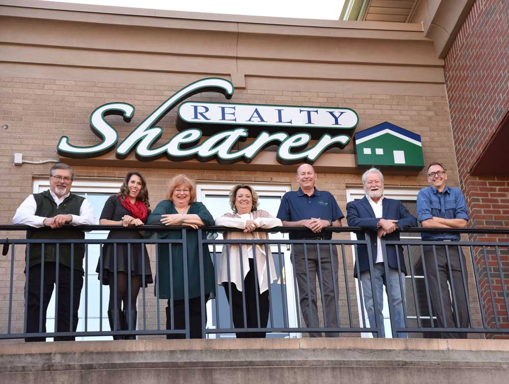 Charlotte property management team at Shearer Realty